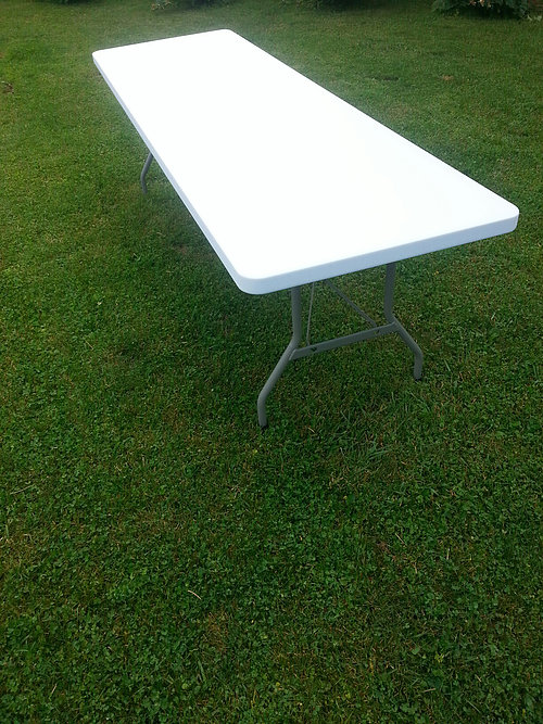 Image of 8' Rectangle Table Rental