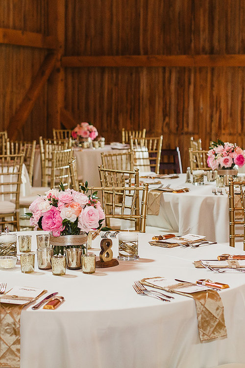 Image of Gold Chair Wedding