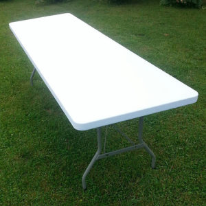 Image of 8' Rectangle Table Rentals