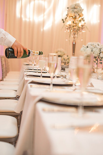 Image of Silver Chairs at Wedding