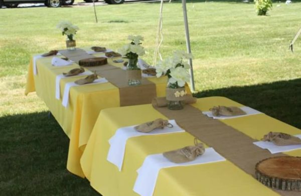 Image of Yellow Linens