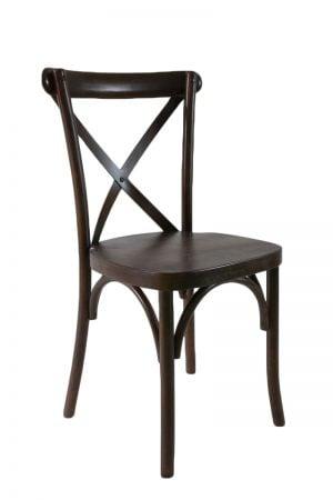 Espresso Crossback Chair