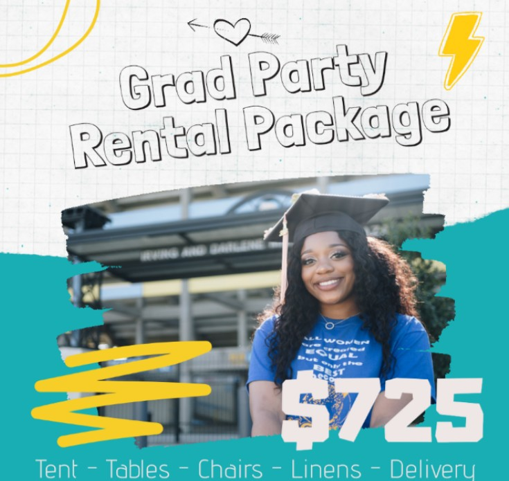 Grad Party Rentals Package