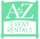 A to Z Event Rentals, LLC.