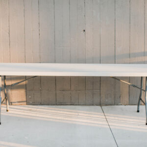 Image of Rectangle Folding Table Rental