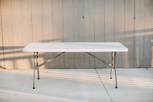 Image of Rectangle Folding table rental
