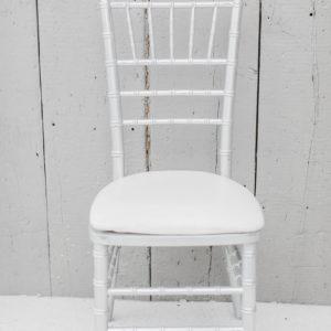 Silver Chiavari Chair Rental