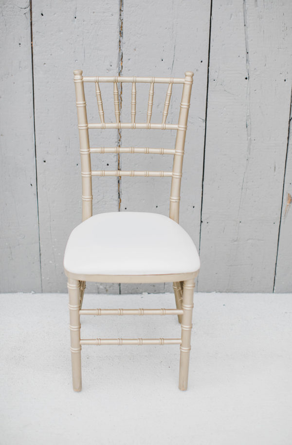 Gold Chiavari Chair Rental