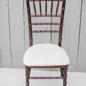 Mahogany Chiavari Chair Rental