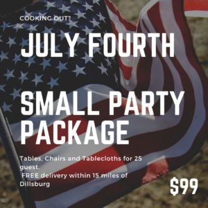 Image of Small July 4th Party Package