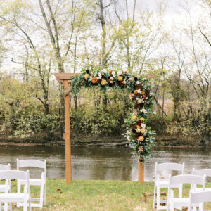 Rectangle Wedding Arch Photo