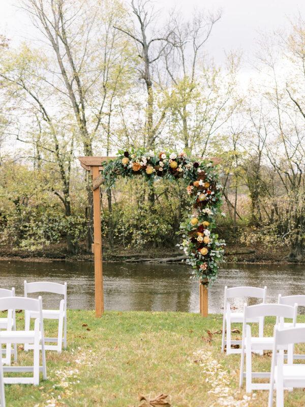Rectangle Wedding Arch Photo