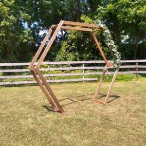 Wooden Octagon Arch Rental
