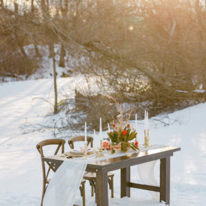 Farmhouse Sweetheart Table Rental