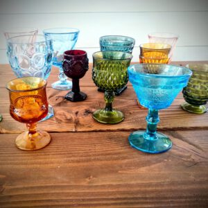 Image of Mismatched Glassware