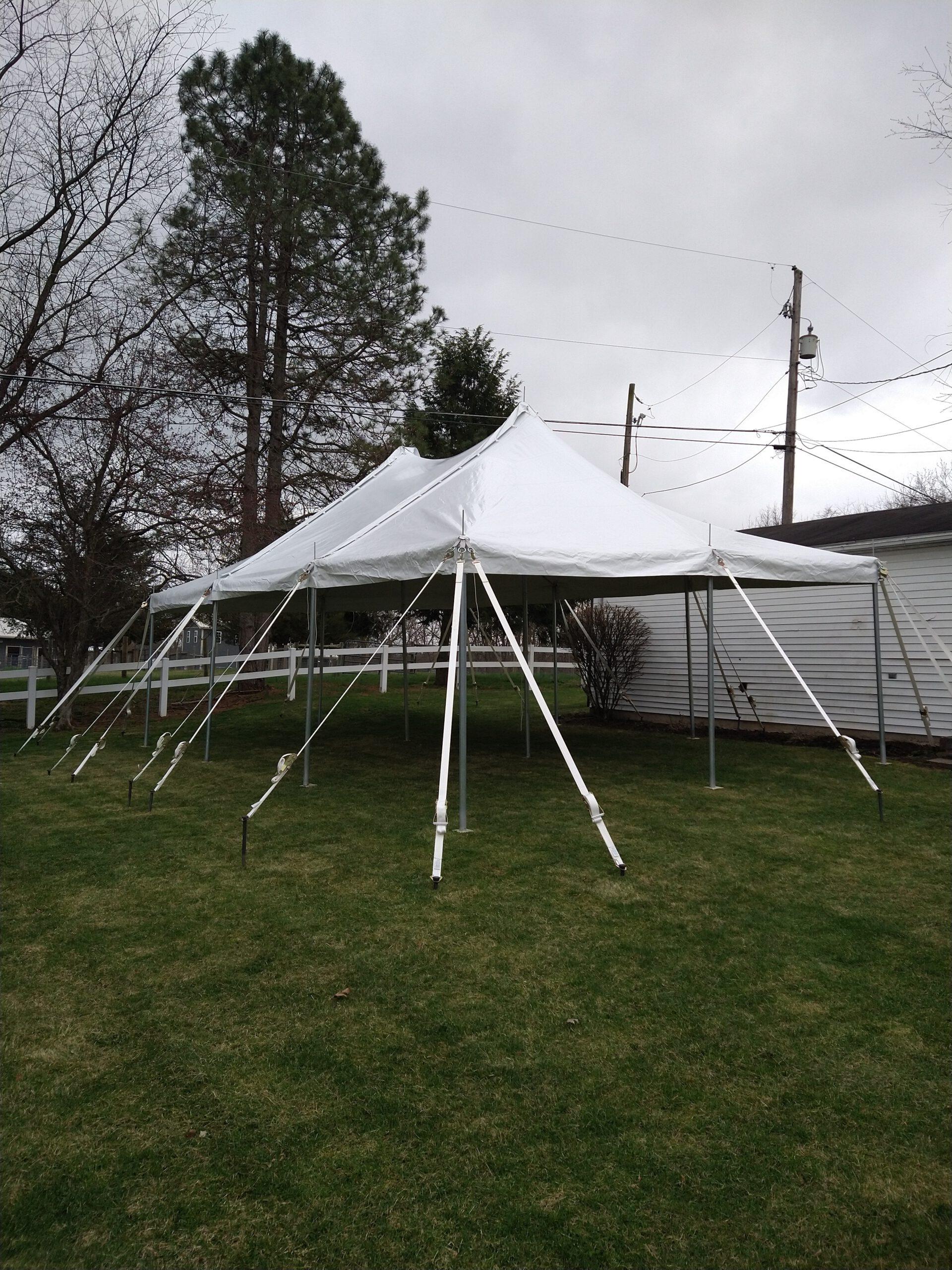 Image of 20x30 Pole Tent Rental