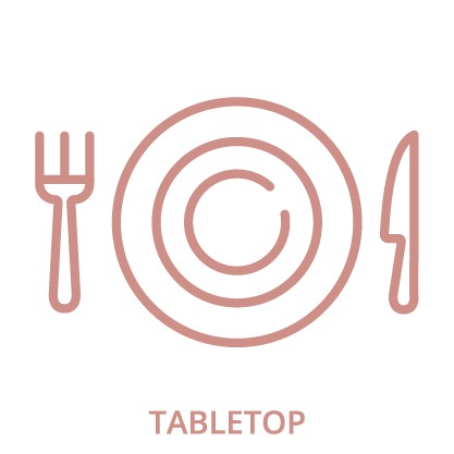 Tabletop Rental Icon