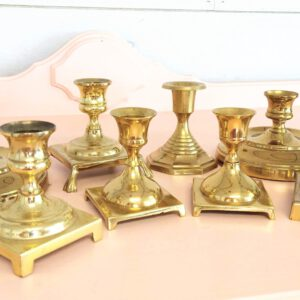 Image of Short Candlesticks