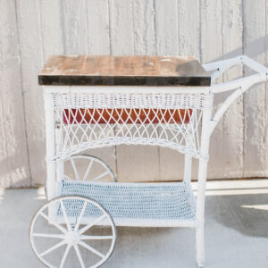 Image of Wicker Concession Cart