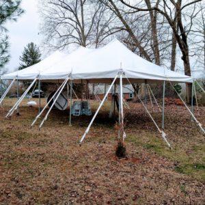 Image of 20x40 Pole Tent Rental