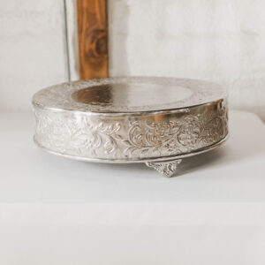Image of Silver Cake Stand Rental