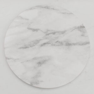 Image of Marble Charger Plate Rental