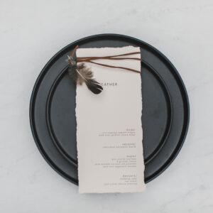 Image of Black Plate Rental