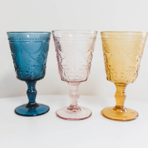 Image of Colored Goblet Rentals