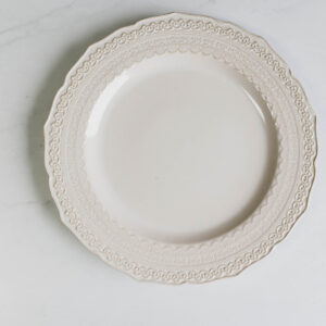 Image of Lace plate rental